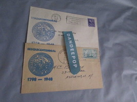 2 Sesquicentennial Postmarked Stamped Envelopes Navy Department April 30... - $7.91