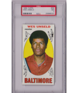 1969 Topps Wes Unseld Rookie #56 PSA 7 P623 - $46.37