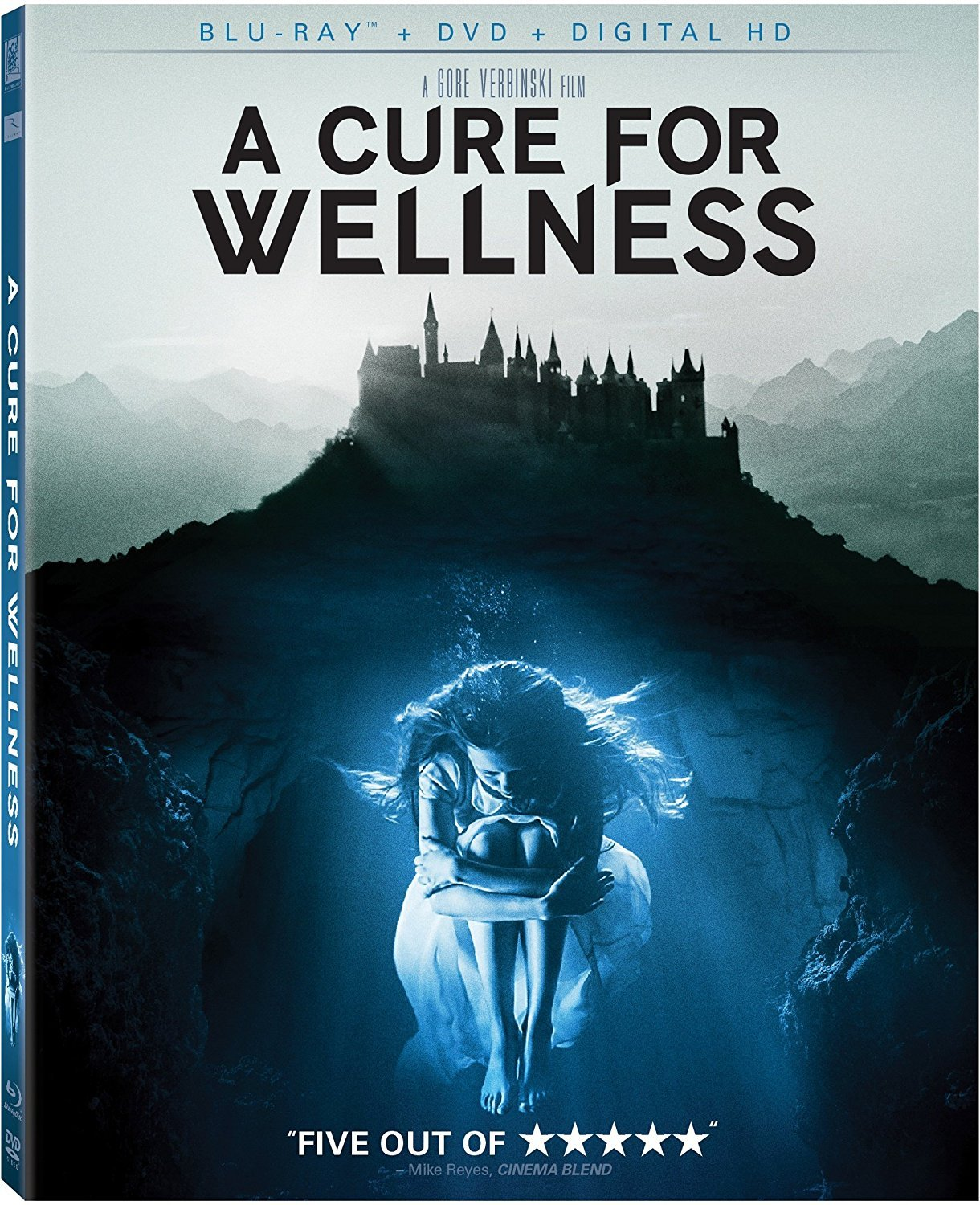 A Cure For Wellness [2017, Blu-ray/DVD] New