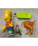 Simpsons Bart Simpson World of Springfield Interactive Figure W/ Access - $28.66