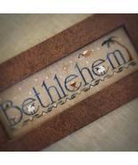 Bethlehem christmas holiday cross stitch chart Little House Needleworks  - $7.65
