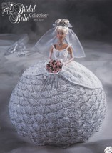 Miss April, Annie's Attic Bridal Belle Crochet Doll Clothes Pattern Booklet - $4.95