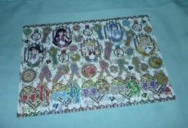 Japan Sailor Moon glitter prism foil shiny jumbo card sticker inner bow costume - $12.98