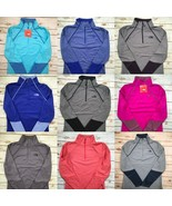 The North Face Jacket 100 Cinder 1/4 Full Zip Pullover Yoga Lightweight ... - $39.89