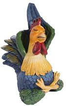 Gnz Super Cute 4 Inch Polyresin Yoga Farm Roosters in Choice of Position... - £11.05 GBP