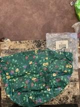 Longaberger Emerald Vine Large Fruit / Sewing Basket Liner #2328110 - NEW - $25.00
