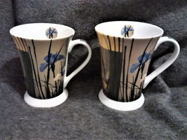 2 Pimpernel Iris Square Mugs New out of package  - $30.00