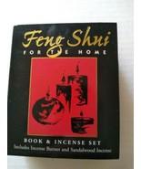 Feng Shui Book & Incense 3 PC Set For The Home Burner  - $24.95
