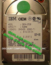 "SSD IBM DBOA-2528 Replace with this SSD 1GB 2.5"" 44 PIN IDE SSD Card image 1"