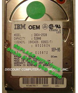 "SSD IBM DBOA-2528 Replace with this SSD 1GB 2.5"" 44 PIN IDE SSD Card - $24.45"