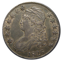 1826 Capped Bust Half Dollar 50¢ Coin Lot# MZ 3101