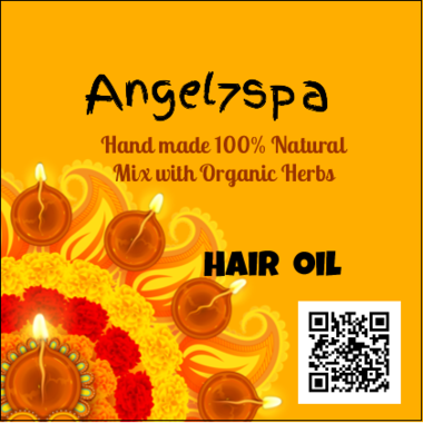 Spellbound Hair Oil hand made by angel7spa
