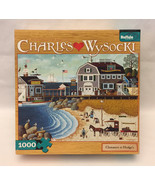 Buffalo Charles Wysocki puzzle Clammers at Hodge's (Horn) 1000 piece Ame... - $4.00