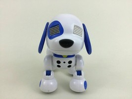 Zoomer Zuppies Puppy Interactive Sport Toy Robot Dog Blue Spin Master - $16.88