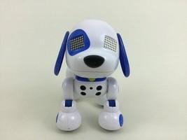 Zoomer Zuppies Puppy Interactive Sport Toy Robot Dog Blue Spin Master - $18.76