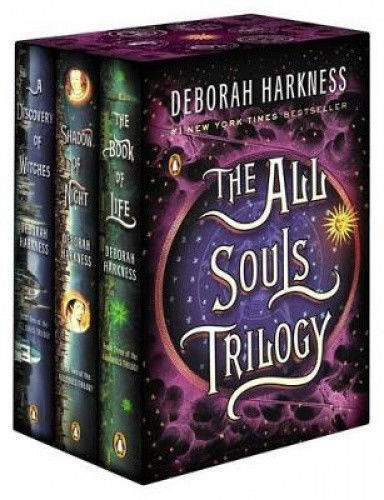 The All Souls Trilogy Book Box Set [New] Deborah Harkness  Discovery of Witches