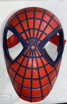 Spiderman Mask Hard Plastic. Cosplay, Halloween Mask. Kids face mask. - $8.91