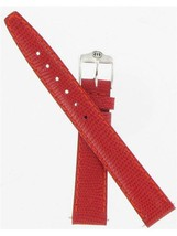 Gucci 14mm Red Lizard Grain Ladies' Size 6300L Watch Band ''900.14610'' - $75.00