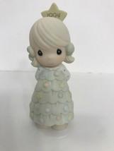 "Precious Moments Figurine 1994 ""You're as Pretty as a Christmas Tree"" #5... - $16.78"