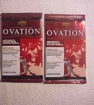 2 New Baseball Pack 1999 Upper Deck Ovation - Mickey Mantle Piece Of History - $10.84