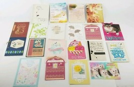 (Lot of 22) Hallmark Cards Happy Birthday & Others Disney Peanuts Looney... - $23.75