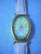 Vintage Wristwatch Precious Moments 30th Anniversary 2004 Gold Tone Stai... - $8.90