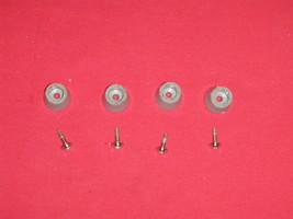 Red Star Breadmaker Machine Feet With Screws for Model BM-635 - $9.49