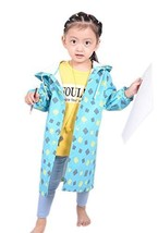 Blue Square Toddlers Hooded Raincoat, 2-4 Yrs