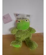 Bead Buddiies Frog, HOt and Cold Aromatherapy Cozy Plush Animal - $19.99
