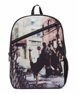 Mojo Straight Outta Brooklyn: Breakdance Urban Punk Schulbuch Tasche Ruc... - $37.41
