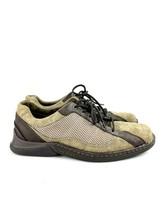 Merrell Men's Leather Desert Sage Lace Up Walking Mesh Comfort Hiking Sh... - $43.56