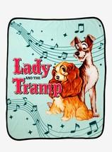 Disney's Lady & the Tramp Throw Blanket, NEW - $30.00