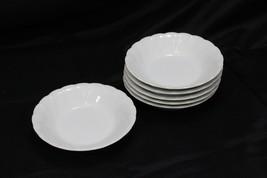 "Sheffield Bone White Fruit Bowls 5.5"" Set of 6 - $39.19"
