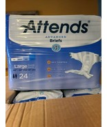 "Attends Advanced Brief, LARGE, 44"" - 58"", Heavy Absorbency, DDC30 - Case... - $41.70"