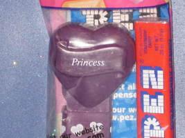 "Purple Valentine ""Princess"" Candy Dispenser by PEZ (Bag). - $6.00"