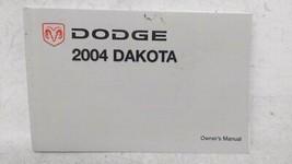 2004 Dodge Dakota Owners Manual 53190 - $25.10