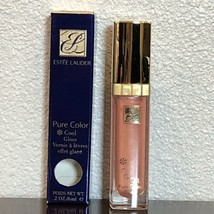 Estee Lauder COOL MELON 802 PURE COLOR COOL GLOSS LIPGLOSS FULL SIZE NEW... - $8.95