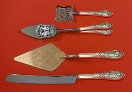Southern Grandeur by Easterling Sterling Silver Dessert Serving Set 4 pc Custom - $299.00