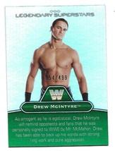 2010 Topps WWE Legendary Superstars Drew McIntyre Rick Rude Insert Card-... - $1.24