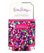 Lilly Pulitzer Drink Hugger Wild Confetti Koozie bottle and can cooler NWT - $13.99