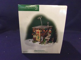 """Dept. 56 Village Accessories """"Here Fishy Fishy Ice House"""" #56.52937 - $18.70"""