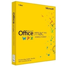 Office Mac Home & Student 2011 Key Card (1PC/1User) - $168.96