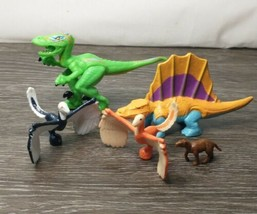 Dinosaur Figures 2004 Imaginext TRex Mountain Raptor Birds Replacement O... - $12.82