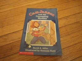 BOOK David A. Adler 'Cam Jansen and the Catnapping Mystery' Scholastic kids PB - $1.99