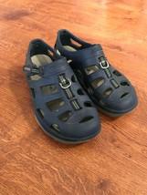 Shimano Navy Nlue Fishing Waterproof Sandals Sz 11 - $22.77
