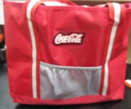 Coca Cola Custom Striped Tote  - New  (0695) - $16.34