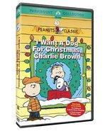 I Want a Dog for Christmas, Charlie Brown DVD - $6.95
