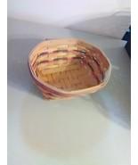 Longaberger Handwoven Eight Sided Basket - 1999 - $9.15
