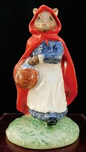 "Royal Doulton Bunnykins Figurine - ""Little Red Riding Hood"" DB230 - $75.99"