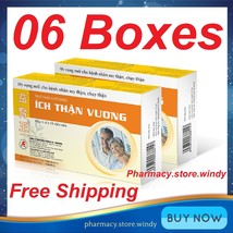 6 Boxes Ich Than Vuong 30 Tablets - Herbal Food Supplement For Kidney He... - $102.89